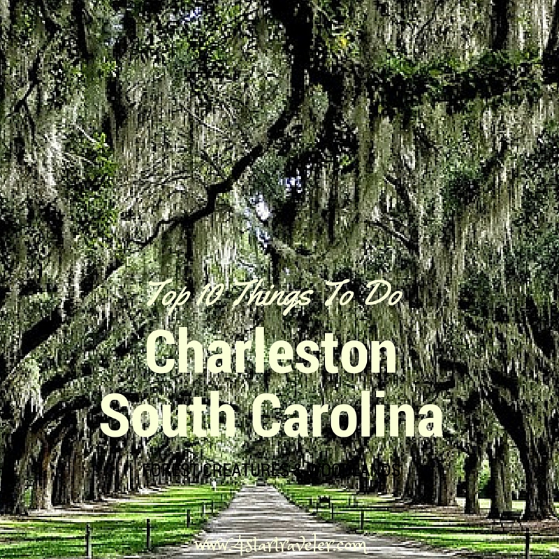 Top 10 things to do in charleston south carolina 4 star for Things to do in charleston nc